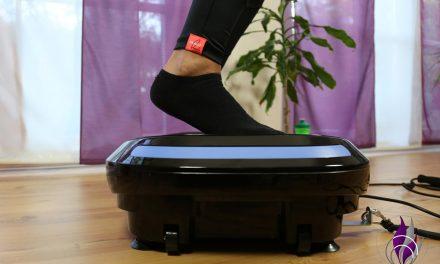 Home Workout Vibrotraining: Wadenheben auf der 4D Vibrationsplatte