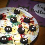 Süße Halloween-Keks-Spinnen oder doch lieber Saures?