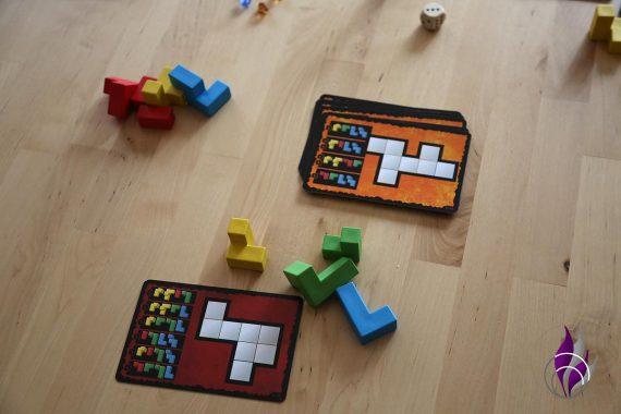 fun4family Knobelspiel Ubongo 3D Family Spielrunde