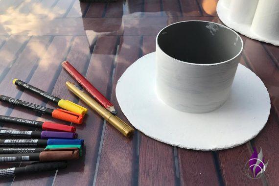 fun4family DIY Tortenprojekt farbig gestalten