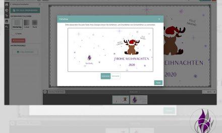 Individuelle Weihnachtskarten online erstellen bei Meine Kartenmanufaktur