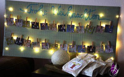 DIY Foto-Adventskalender – individueller Kalender zur Vorweihnachtszeit