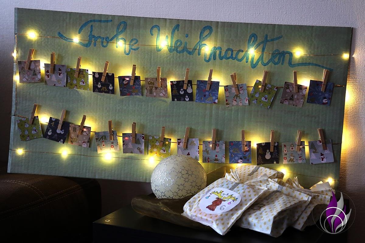 fun4family DIY Foto Adventskalender fertig