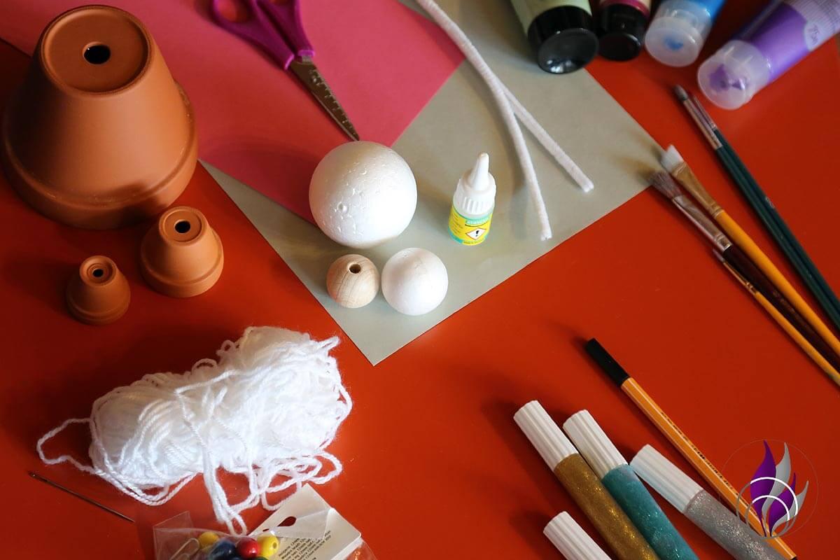 fun4family DIY Schutzengel Bastelmaterial