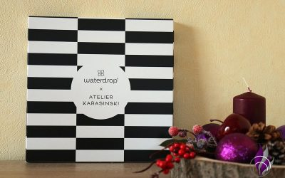 Sponsored Post Waterdrop Adventskalender designed by Atelier Karasinski