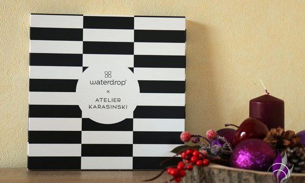 "<span class=""sponsored_text""> Sponsored Post</span> Waterdrop Adventskalender designed by Atelier Karasinski"