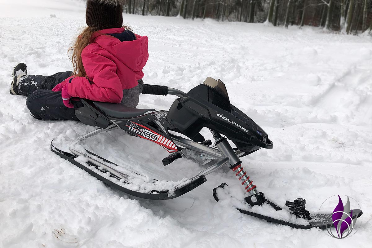 fun4family Winter Schnee Rodeln Schlitten