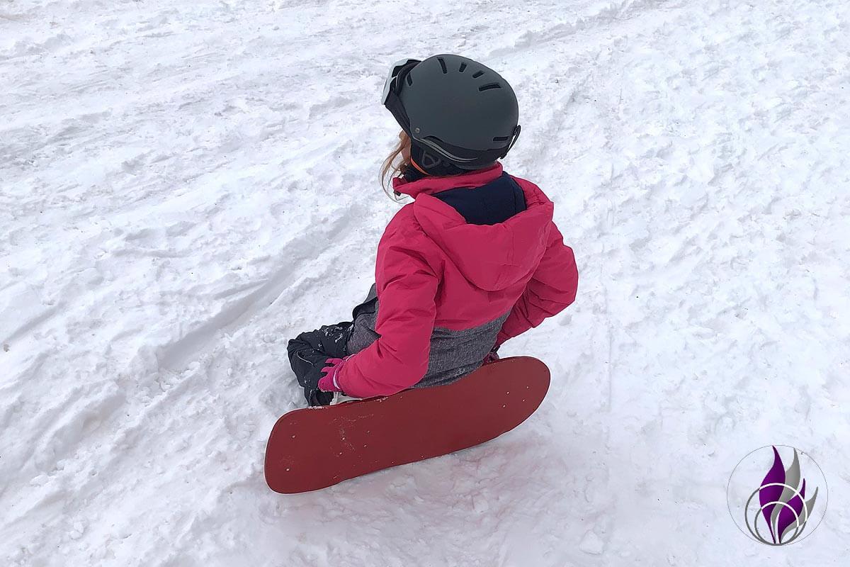 fun4family DIY Snowboard fahren Pause