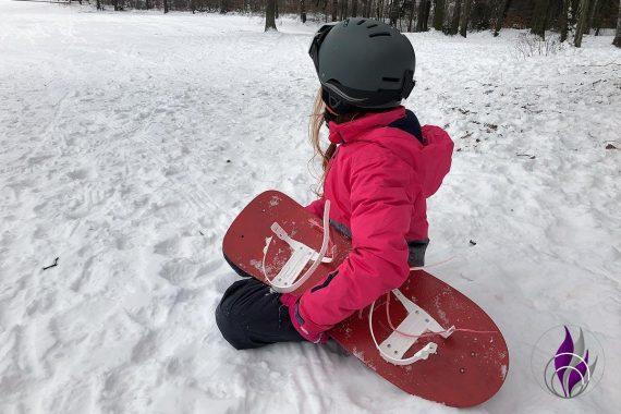 fun4family DIY Snowboard Winter Fahrspaß