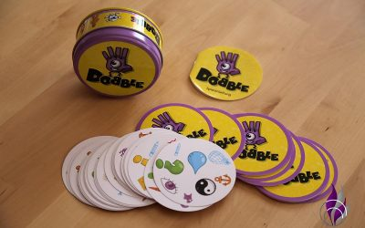 Dobble – cooles Reaktionsspiel und Gehirnjogging aus der Dose