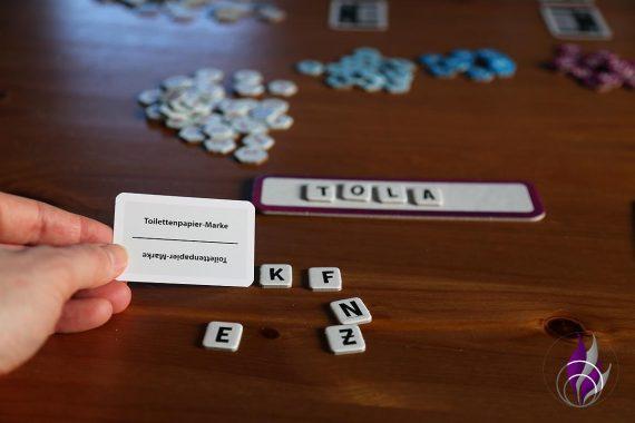 fun4family Krazy Wordz Partyspiel Ravensburger Aufgabenkarte Wort kreativ
