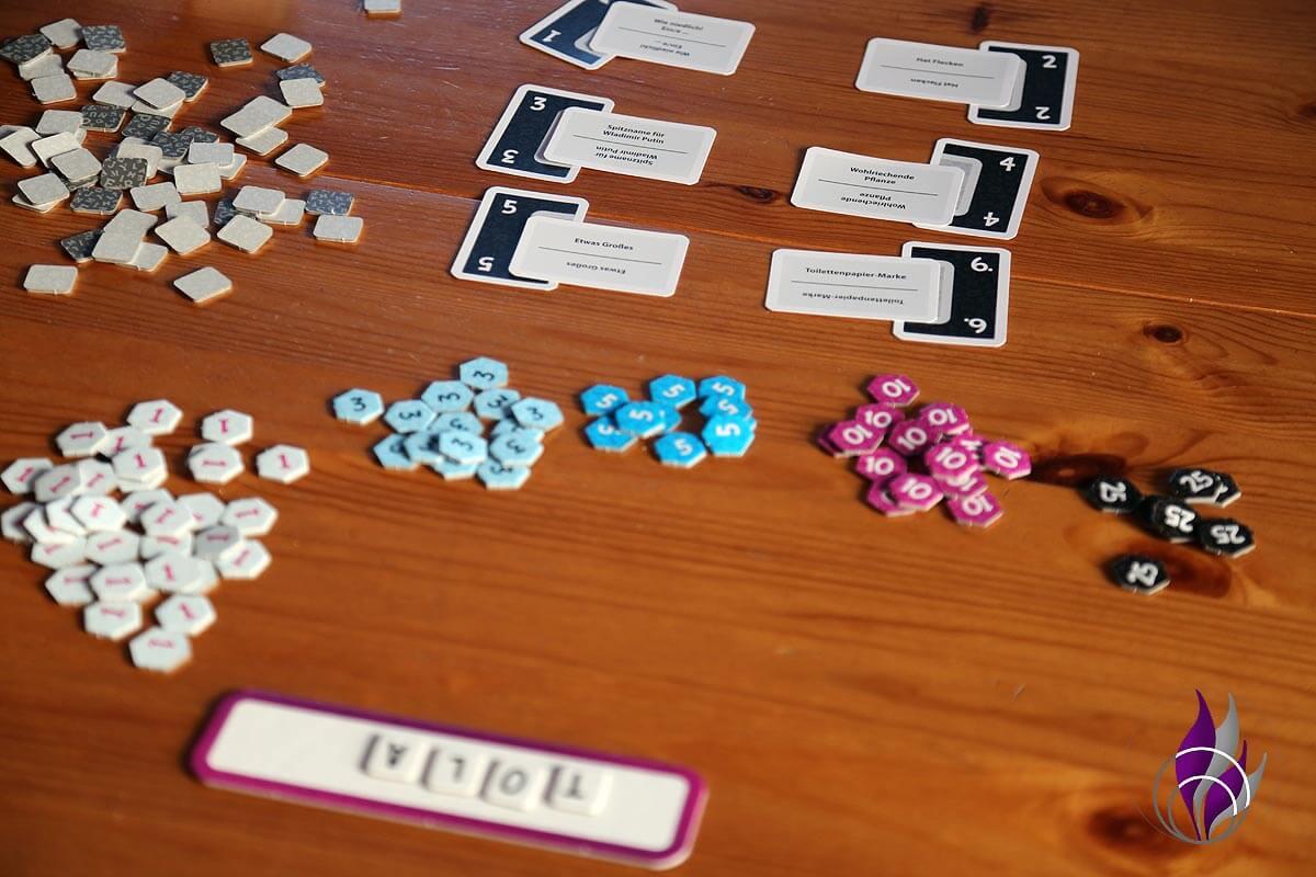 fun4family Krazy Wordz Partyspiel Ravensburger Aufgabenkarten