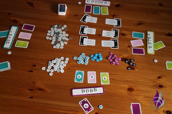 fun4family Krazy Wordz Partyspiel Ravensburger Punktevergabe
