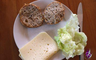 Leckere Low Carb Käsebrötchen mit Skyr, Sojamehl & Flohsamenschalen