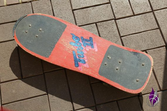 fun4family Upcycling Skateboard