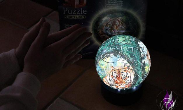 """<span class=""""sponsored_text""""> Sponsored Post</span> 3D Puzzle Nachtlicht Raubkatzen von Ravensburger – Puzzlespaß im Test"""