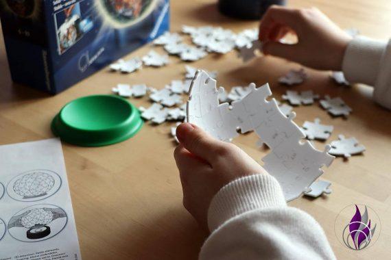 fun4family 3D Puzzle-Ball Nachtlicht puzzeln