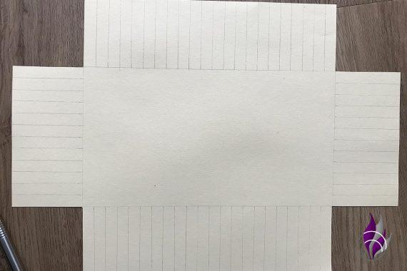 fun4family DIY Osterkörbchen flechten Papier Tonkarton Vorlage