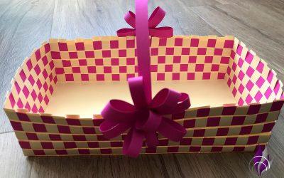 DIY Osterkörbchen – Schöne Last Minute Idee für persönliche Geschenke