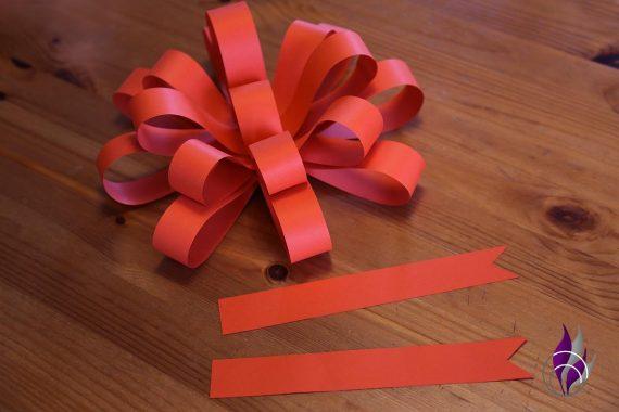 fun4family XL Geschenk Schleife Schleifenende ankleben