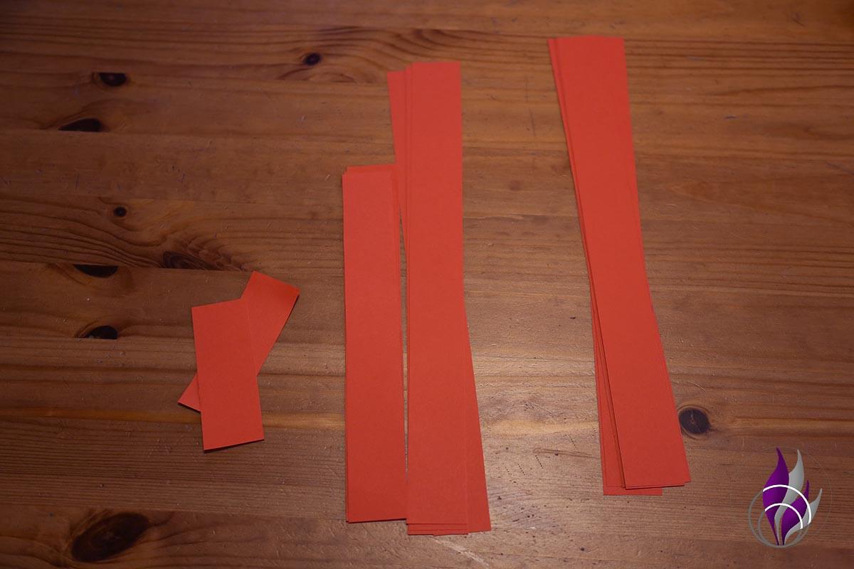 fun4family Riesenschleife Papierstreifen