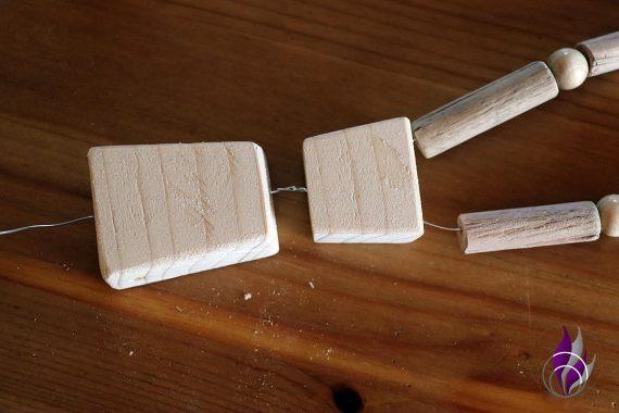 fun4family Wooddoll Holzpuppe Körper verbinden