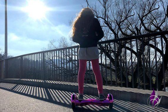 Bewegungs-Challenge Schule Hoverboard Abwechslung