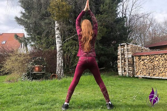 Bewegungs-Challenge Schule Workout Jumping Jack
