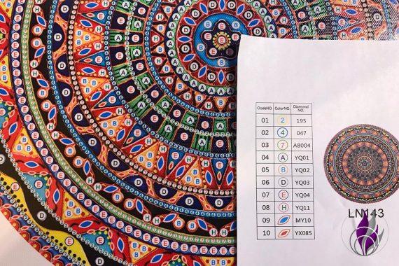 Diamanten Malerei Zahlen Farben Diamant
