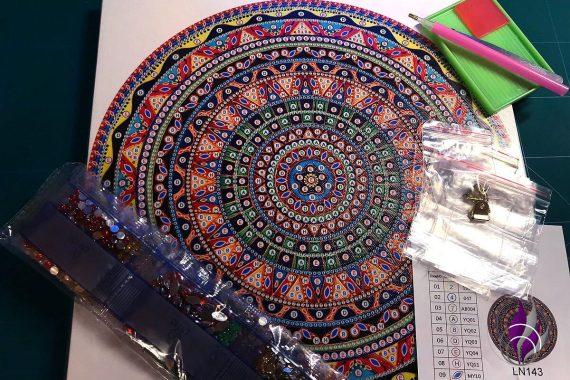 Diamanten Malerei Zubehör Mandala