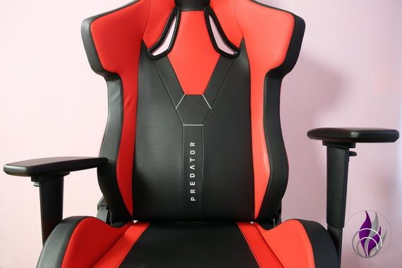 Elite Gaming Sessel ergonomisch Armlehne verstellbar