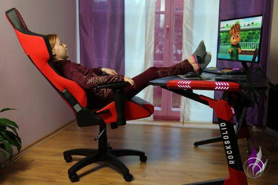Elite Gaming Stuhl ergonomischer Bürostuhl Liegeposition