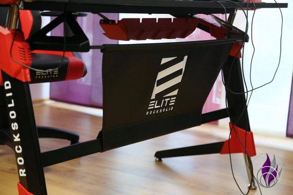 Elite Gaming-Tisch Sichtschutz Rückwand