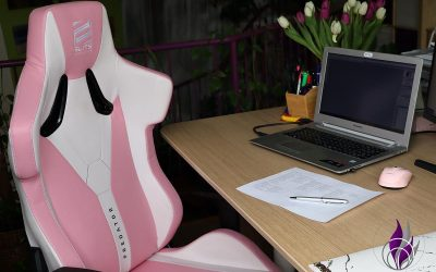 Sponsored Post Elite Gaming Stuhl – ergonomischer Bürostuhl für Homeoffice im Test