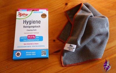 Sponsored Post Hygiene Reinigungstuch mit KupferTechnologie von Poliboy im Test