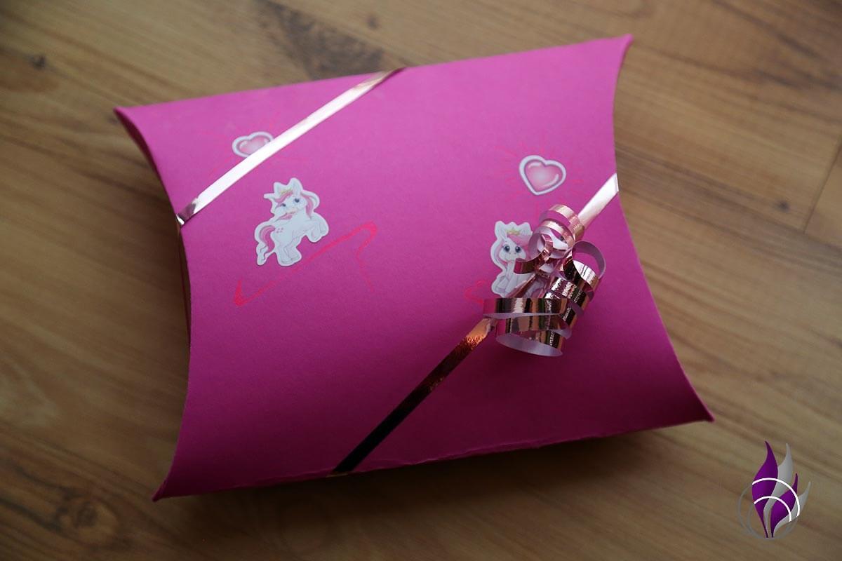 Kissenschachtel Pillow Box Kissen Schachtel Verpackung