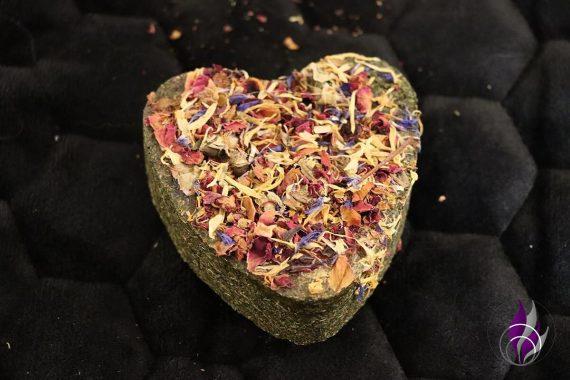 Knabber Herz Blüten Petersilie Kaninchen Mr. Crumble