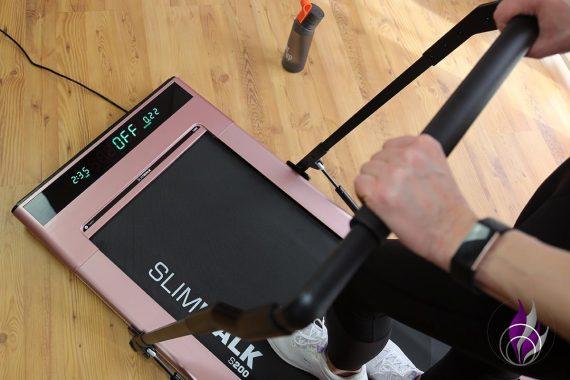Slimwalk Laufband Miweba Sports Bremse